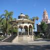 The Elegant Bandstand In Jardin Hidalgo