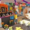 A Colorful Altar For The 'Dia de los Muertos' Celebration