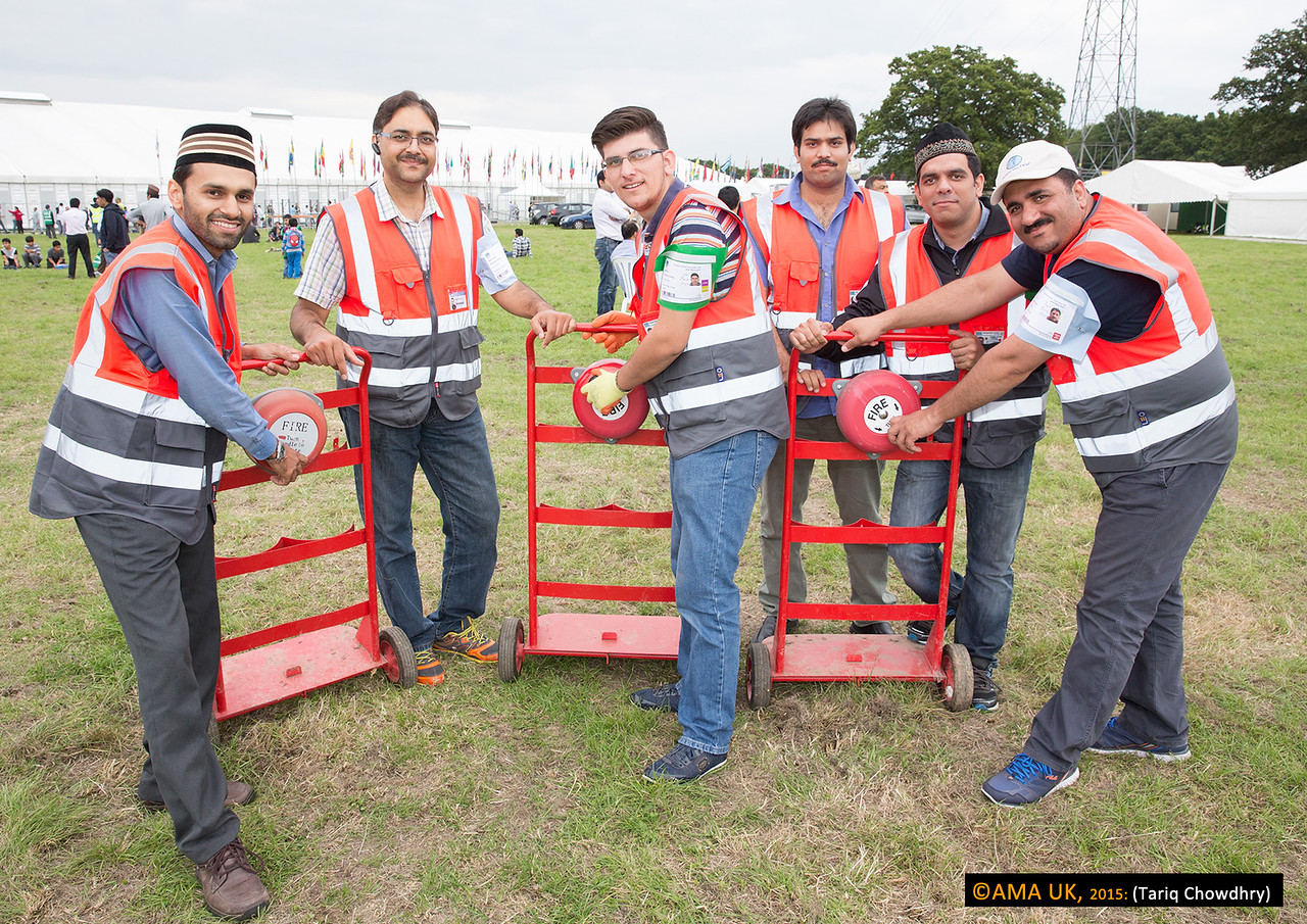 Health and safety procedures throughout Jalsa