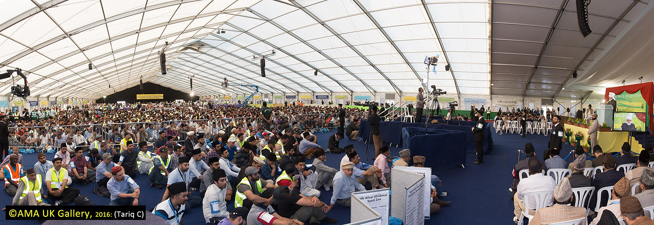 "Reminding the volunteers about the importance of prayer, Hazrat Mirza Masroor Ahmad said:  ""Only through prayer and the worship of Allah will our efforts and our work be blessed. This is the secret to our success! Without Allah's Grace and Mercy we cannot achieve anything."""