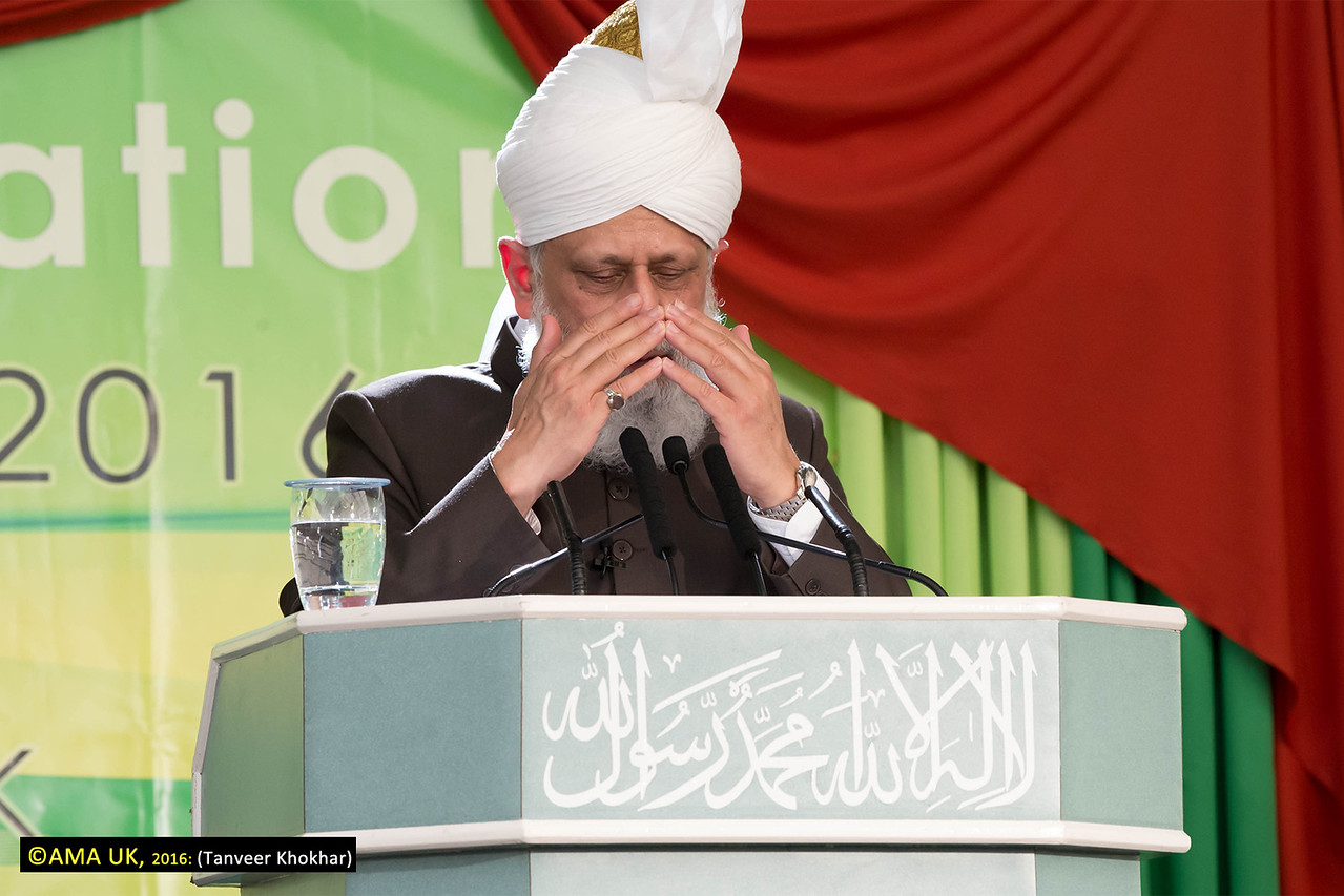 The session ended with prayer led by His Holiness