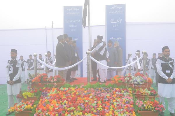 Flag Hoisting and Lawae Ahmadiyyat