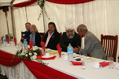 Ashraf Chaudhry with Huzur