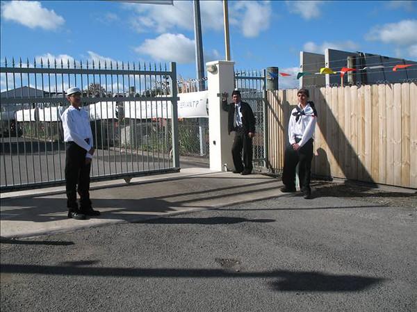 Gate operation