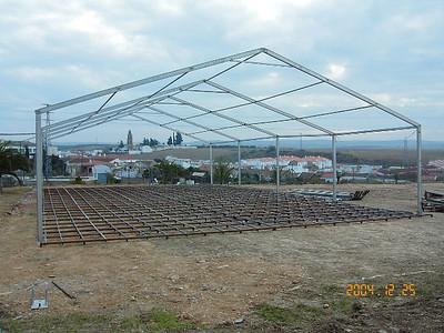 Jalsa Spain - Main Jalsa Gah is being built