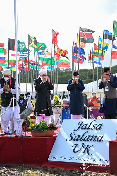 Jalsa Salana UK Flag Hoisting
