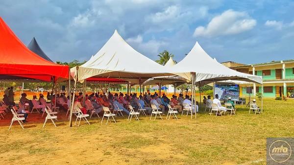 Enjoying Jalsa Salana in Ghana
