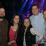 John and Lissy Mann, Krissy Smith, Steve Parker and Emily Smith.