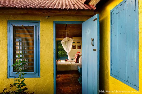 JAMAIQUE.  Le Jakes Hotel à Treasur Beach