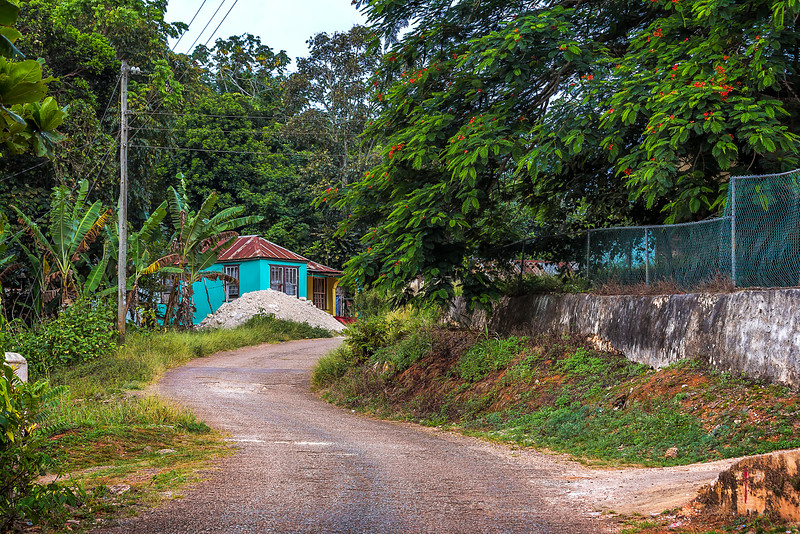 In the beautiful Country District of Linton Park, St Ann, Jamaica.