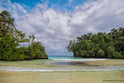 Frenchman's Cove near Port Antonio, Jamaica
