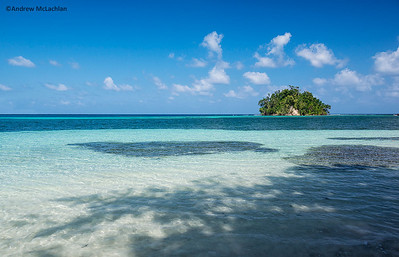 San San Beach and Monkey Island near Port Antonio, Jamaica