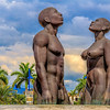 Taken at Emancipation Park in Kingston, Jamaica.