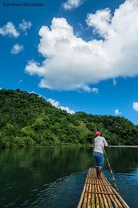 Rafting on the Rio Grande River, Jamaica
