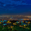 View of Kingston, Jamaica from Look Out Red Hills.