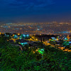 View of Kingston, Jamaica at night