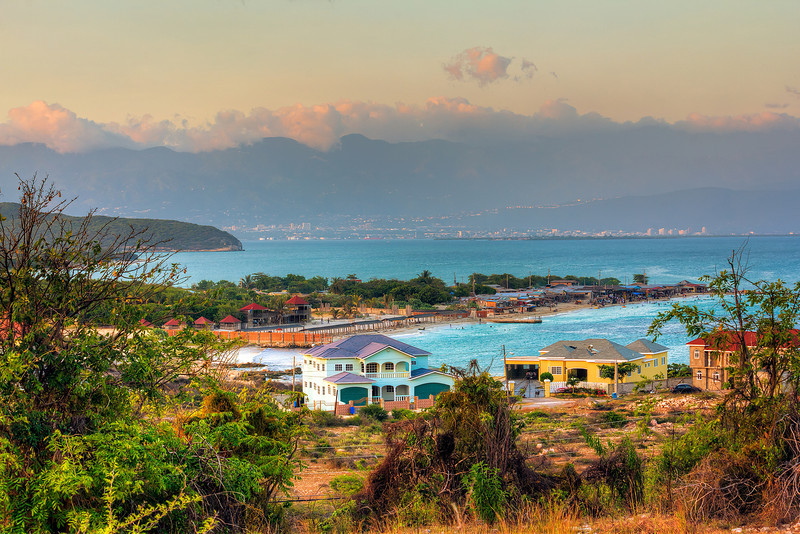 View from Hellshire , Jamaica.