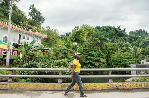 Visiting Port Antonio the Portland Parish, Jamaica