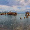 Damage Pier in Port royal, Jamaica.