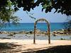 Beach Wedding Arch - Grand Lido Braco, Jamaica