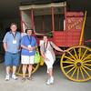 Rod and Pat Haddad (Columbia Shuswap) and Pat Sheach (Vancouver) at O'Keefe Ranch - Vernon Jamboree 2011 edit