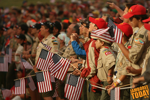 Greeting a New Century of Scouting