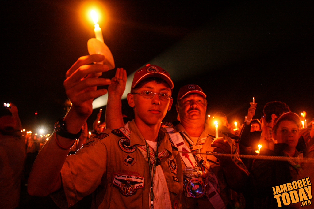 A Scout is Reverent: Faith, awe, and respect at the Jamboree