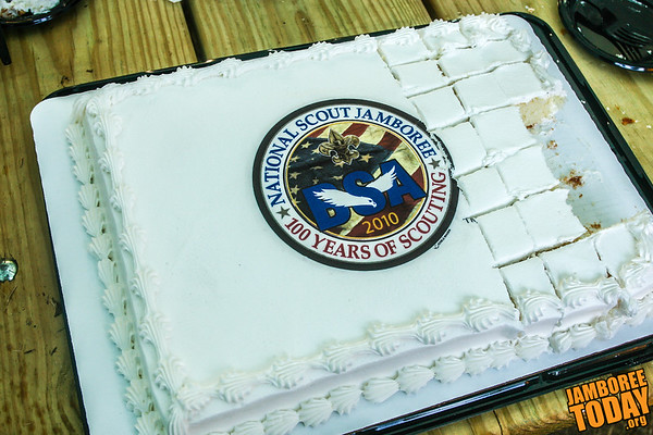 2010 National Scout Jamboree Cake