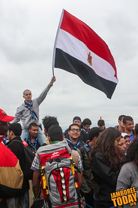 Egyptian Scouts at the 2011 World Scout Jamboree