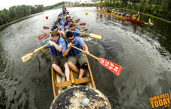 Dragon Boat Racing at Goodrich Lake