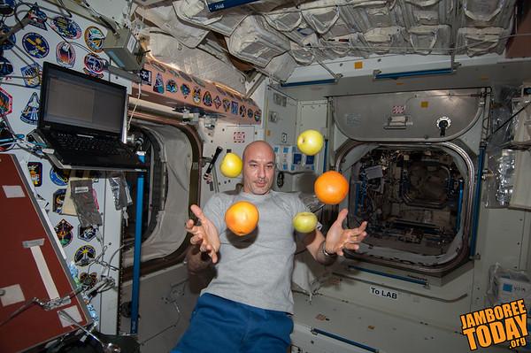 Astronaut Luca Parmitano Speaks from Space