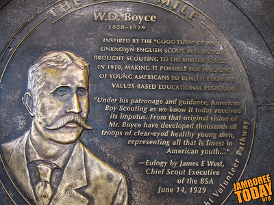 W.D. Boyce Monument