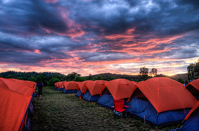 Sunset Over Basecamp C
