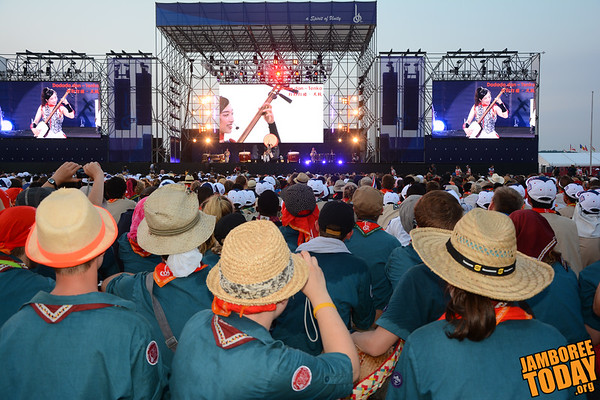 2015 World Scout Jamboree Opening Show
