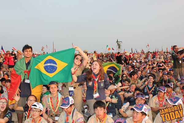 Brazillians Find New Friends at the 2015 World Scout Jamboree