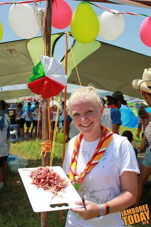 Chopping Champ at 2015 World Scout Jamboree