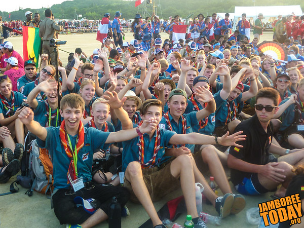 A UK Hello from the 2015 World Scout Jamboree