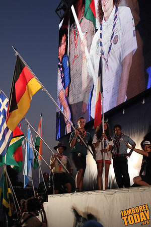 2015 World Scout Jamboree Parade of Colors