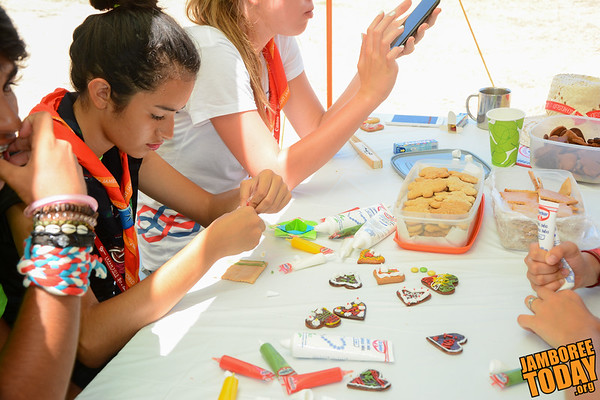 Crafty Cookies at the 2015 World Scout Jamboree