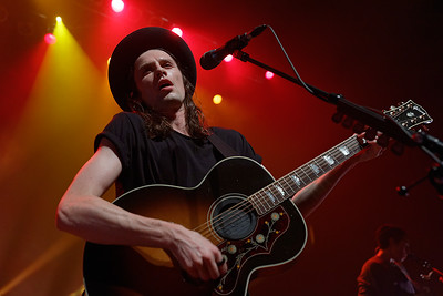 James Bay live at Fillmore Detroit on 10-4-16.  Photo credit: Ken Settle