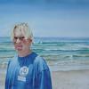 """Kevin"", 2004, Watercolor, 20"" x 29""<br /> Original & Prints NFS"
