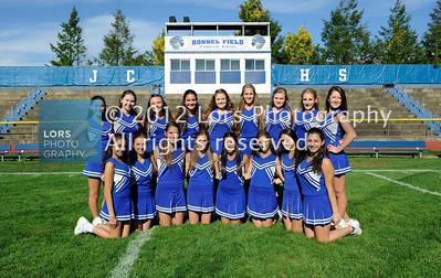 2012-10-1 James Caldwell H. School Girls JV Cheerleaders