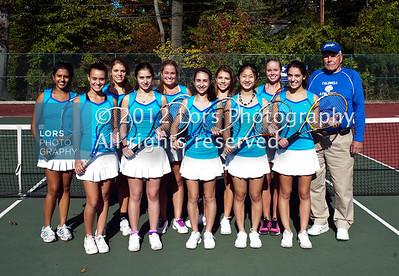 2012-10-12 James Caldwell HS Girls Varsity Tennis