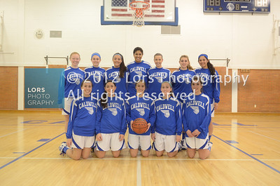2013-1-22 James Caldwell HS Girls Basketball