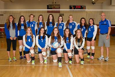 2013-10-14 Caldwell Girls Varsity Volleyball