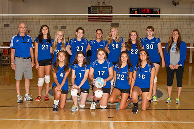 2013-10-14 James Caldwell Girls JV Volleyball