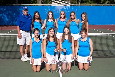 2013-10-2 James Caldwell Girls V Tennis