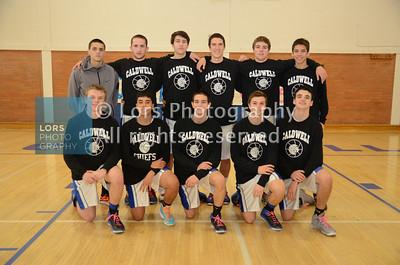 2014-1-30 James Caldwell Boys V Basketball & Freshman