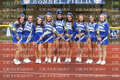 2015-11-7 James Caldwell HS Varsity Football Cheer and Band