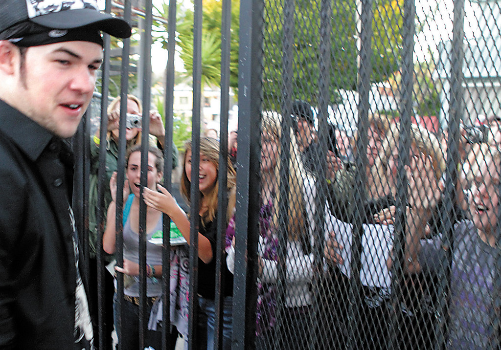. Shmuel Thaler/Sentinel file James Durbin returned home to Santa Cruz a genuine American Idol celebrity.